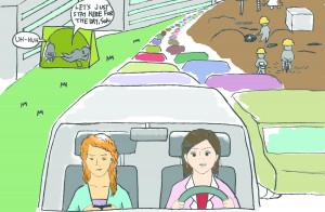 Tysons Traffic Cartoon