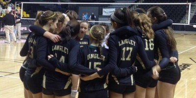 Saxon Volleyball clinches spot in State Finals