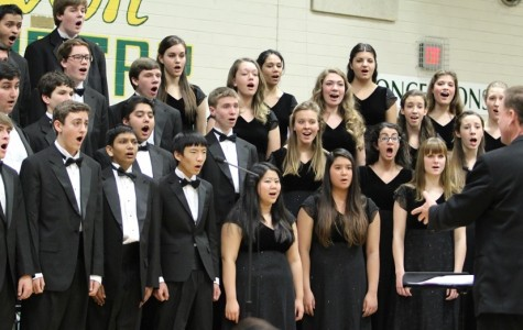 Langley Band, Choir, and Orchestra performs at 2013 Winter Concert
