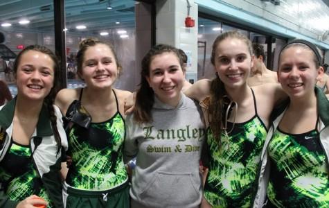 Saxon Swimming Boys/Girls defeat South Lakes