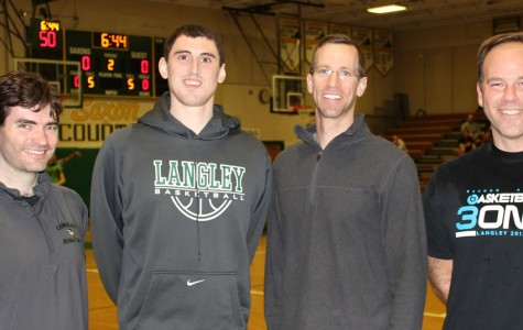 Mr. Kissling, Kuhn, Herzig, and Whitehorne clench 2014 Langley 3-On-3 Basketball Title