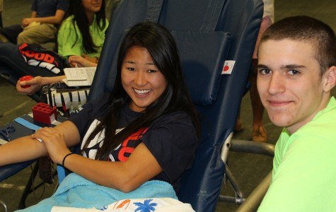 Saxons Save Lives at Spring Blood Drive