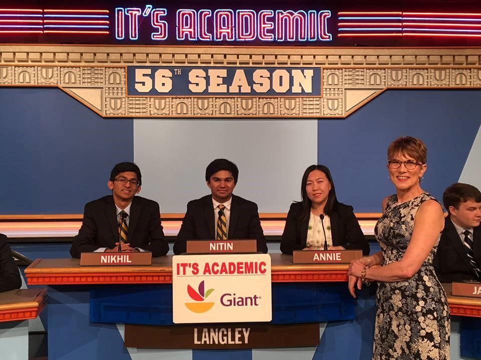 The team sitting for a picture in the 56th season of the show that will be televised on NBC on April 4th. The team has been successful in the show this year and will compete for the semifinals. Photo by NBC.