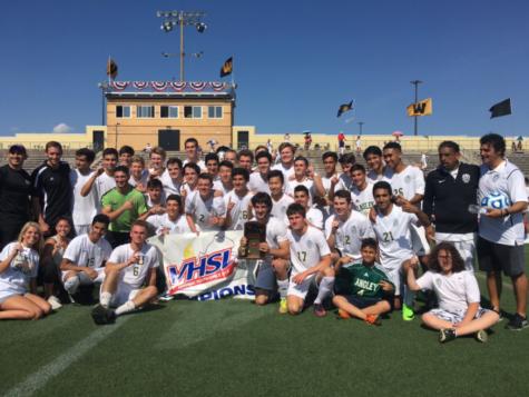 Langley wins second boys' soccer region championship in three seasons