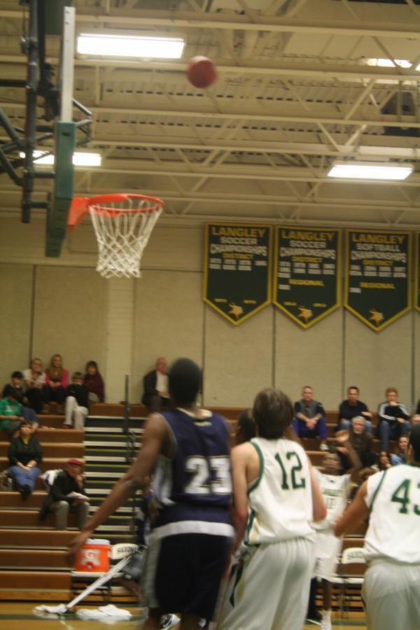 Varsity Basketball Senior Night