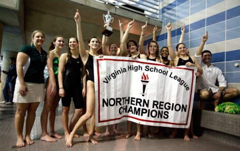 Girl's swim captures regional title