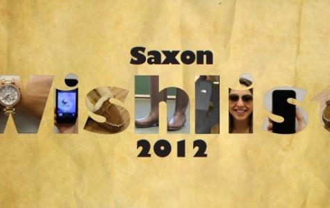 Saxon Wishlist 2012