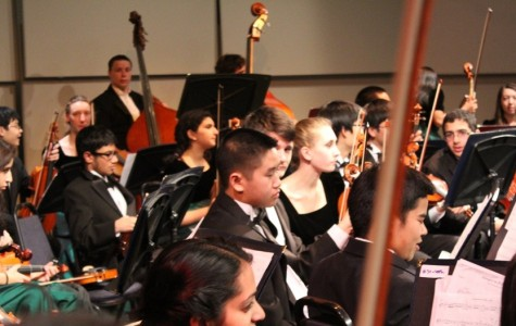 Langley Orchestra performs at Italian Pyramid Concert
