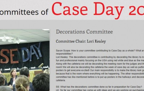 Interactive Story: Case Day 2013 Committees
