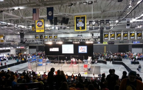 Robotics team make it to quarterfinals in Richmond competition