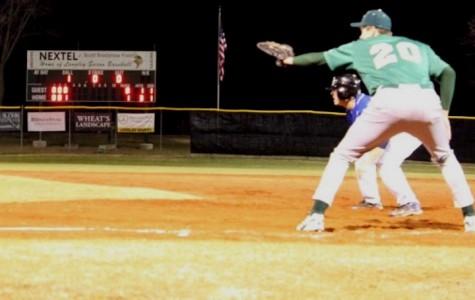 Saxon baseball blowout against Statesmen