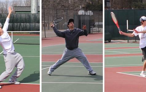 Boys varsity tennis defeats Fairfax
