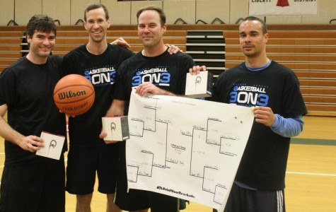 """3 Men and a Baby"" team victorious in basketball tournament"