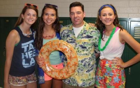 """Spring Spirit Week kicks off with """"Pool Party Tuesday"""""""