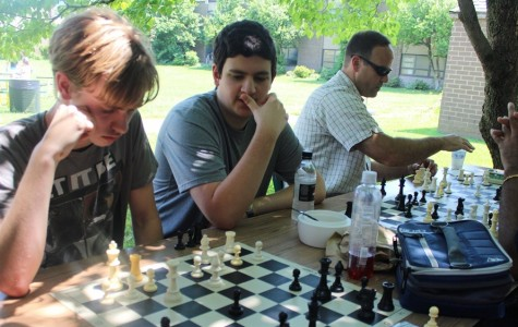 Chess Club competes during lunches