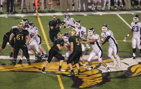 Saxon Football crushes Chantilly 42-21 in home game