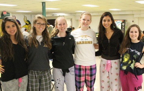 Saxons deck out in their PJ's for Spirit Week