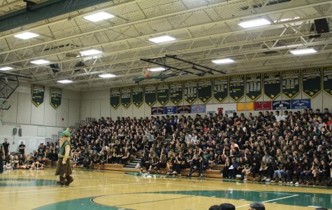 Students gather for Homecoming Pep Rally