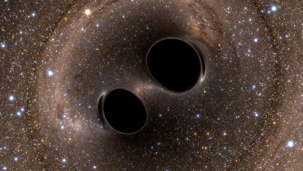About a hundred years ago, Einstein predicted the existence of gravitational waves, but until now, they were undetectable. Photo from Caltech.