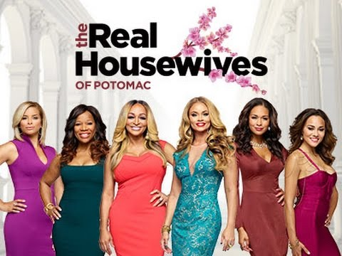 From left to right, Robyn Dixon, Charisse Jackson Jordan, Karen Huger, Gizelle Bryant, Katie Rost, and Ashley Darby join the cast of the new show, The Real Housewives of Potomac.