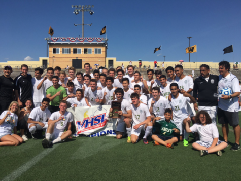 Langley wins second boys' soccer region championship in three seasons