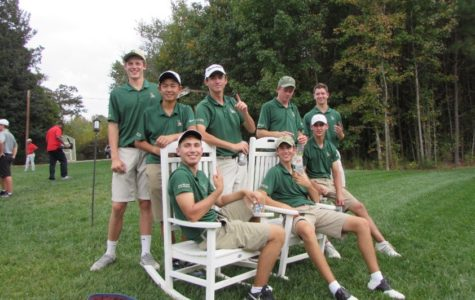 Saxon Varsity Golf Wins State Championship
