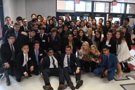 Langley Attends McMUNC IV at Mclean High School