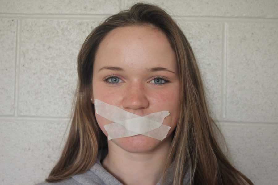 Langley+student+with+tape+covering+her+mouth+exemplifies+the+silence+imposed+on+censoring+student+journalists.+Passing+the+New+Voices+Bill+would+secure+the+necessary+freedoms+that+allow+journalism+to+thrive+as+a+source+of+truth+and+integrity+across+the+country.+