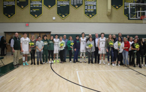 Senior Night and One Final Home Win