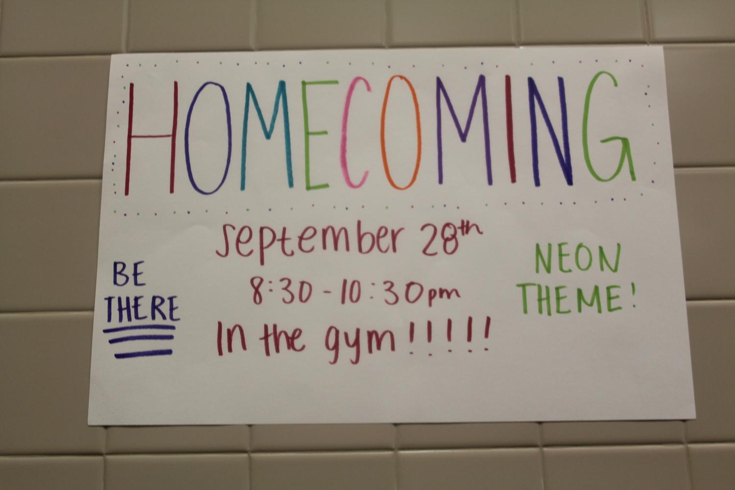 This year's Homecoming Dance theme is