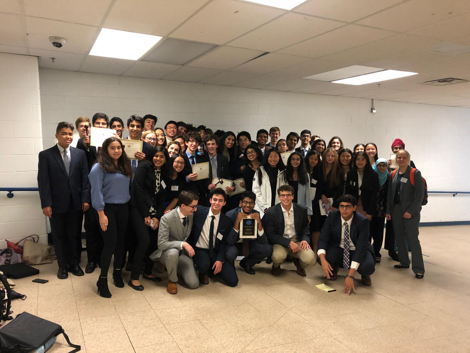 Langley's Model United Nations team has consistently been ranked one of the best in the nation; and Secretary-General Kavye Vij believes victory at Wootton is a good homage to this.